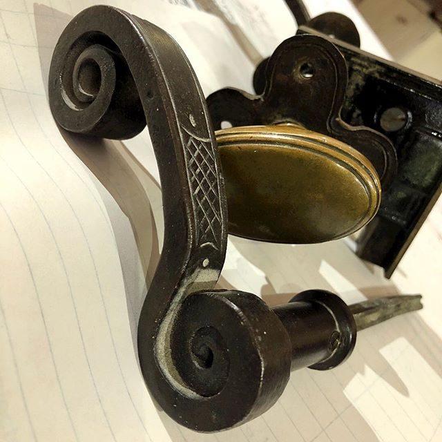 nice details on some original architectural hardware