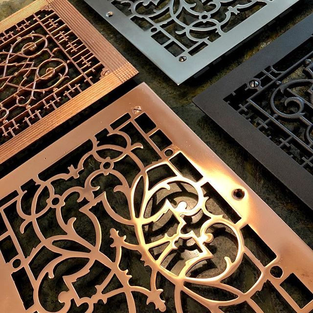 trivets made from the original homes heating grills