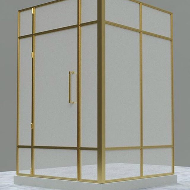 rendering of a shower enclosure we have in the shop