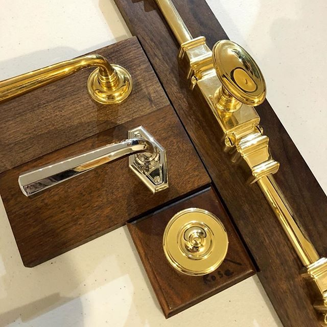 hardware selection for a vintage apartment renovation in