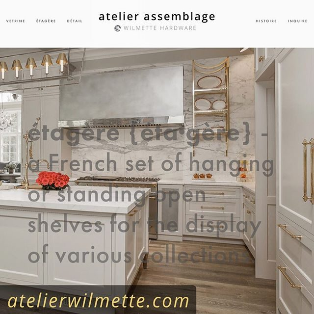 atelierwilmette.com is live! visit our new site for insight and inspiration on our architectural metalwork