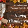 Have a safe and fun Thanksgiving!