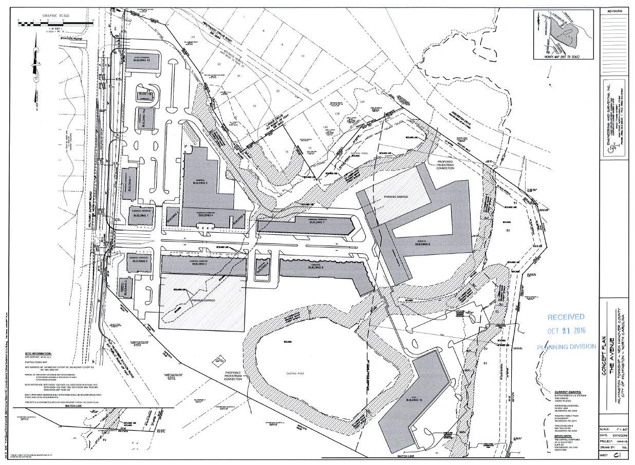 For major Military Cutoff development proposal, traffic a