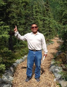 pastor nelson in forest