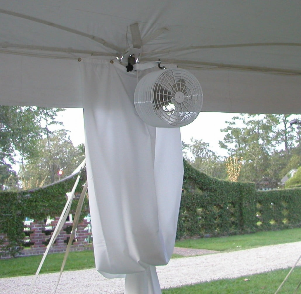 Cooling Fans Outdoor Tent Pole Mounted Wilmington Nc
