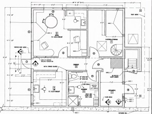 office-lab floor plan