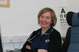 Sister Lorraine McNally works at Wilmslow Health Centre