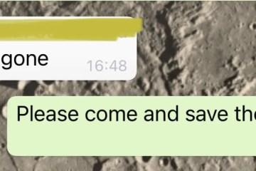 The day of Power Cut - Whatsapp Screeshot