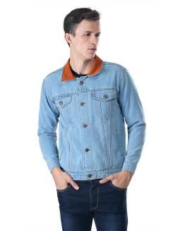Inficlo Jaket Pria Biru Jeans SIP 933
