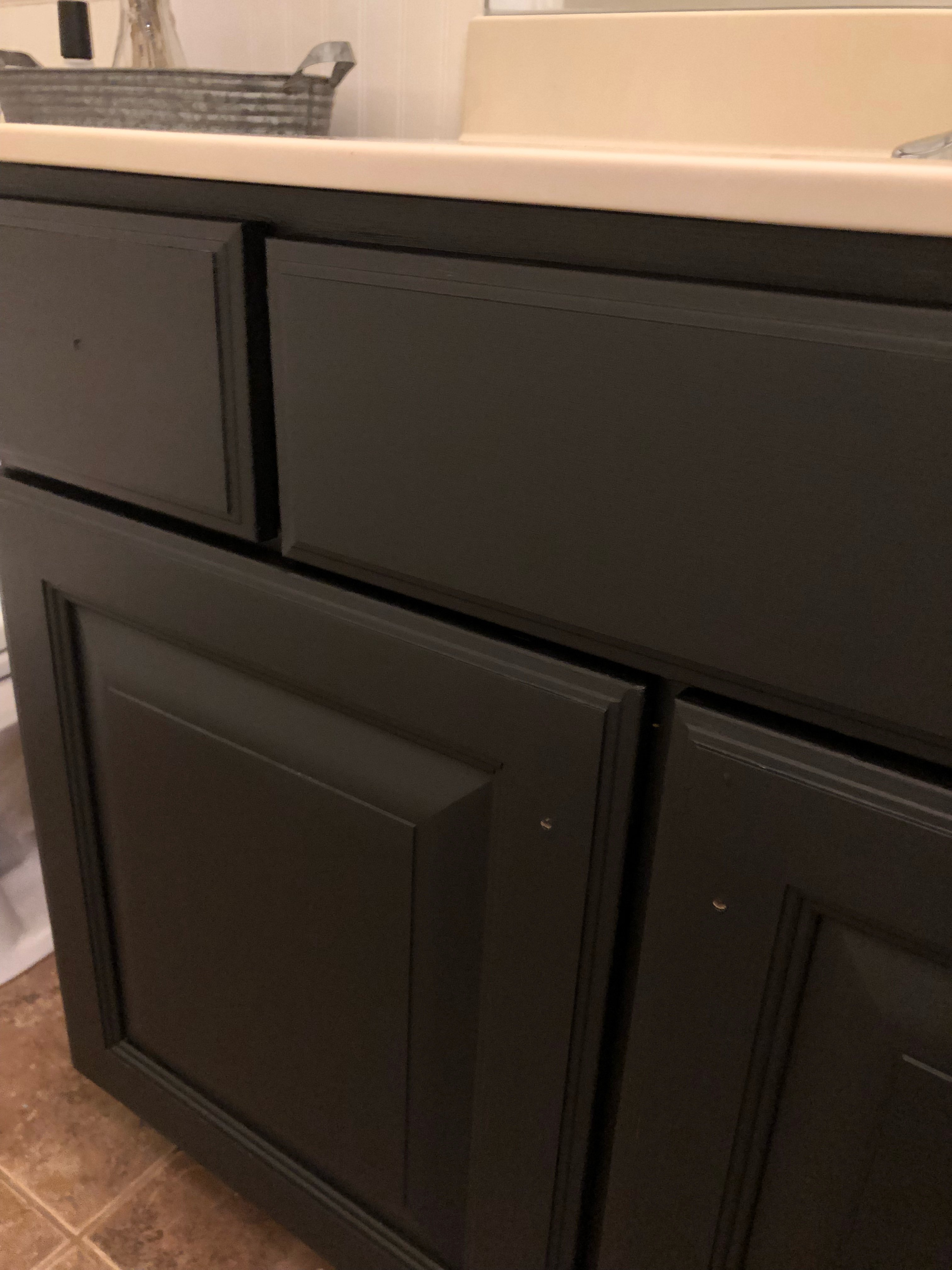 Painted Bathroom Cabinets Paint Your Bathroom Cabinet For A Cheap And Easy Diy 100 Room