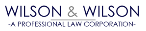 Wilson & Wilson Professional Law Corporation logo retina