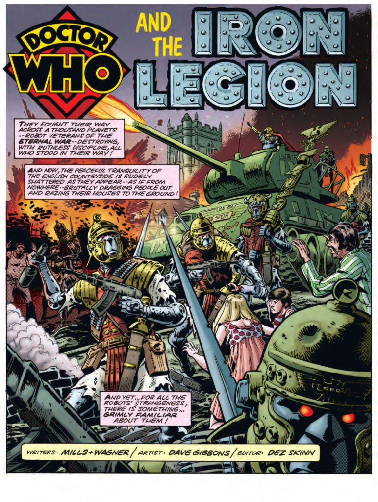 Doctor Who | Dave Gibbons Collection