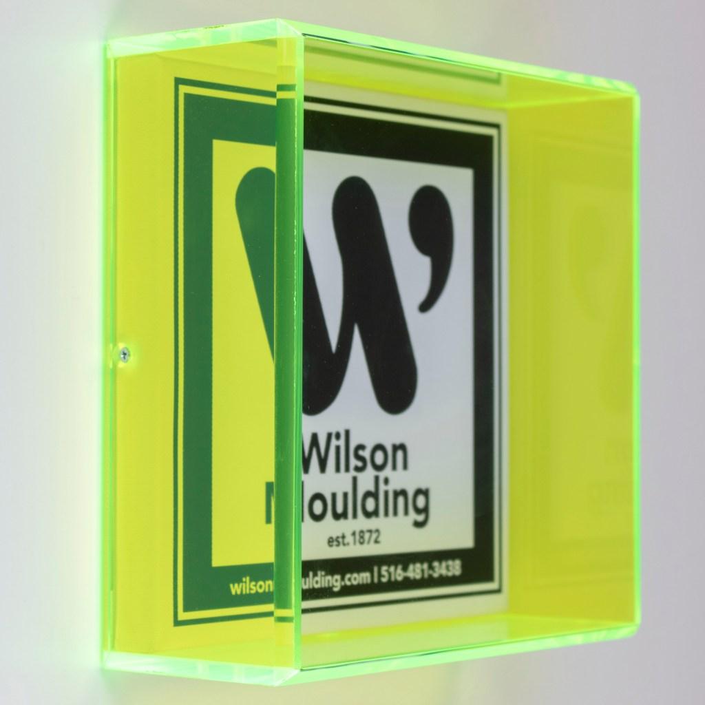 custom Acrylic Box - Wilson Moulding