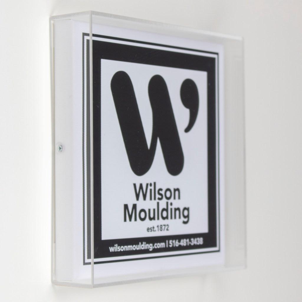 Acrylic Box- Wilson Moulding