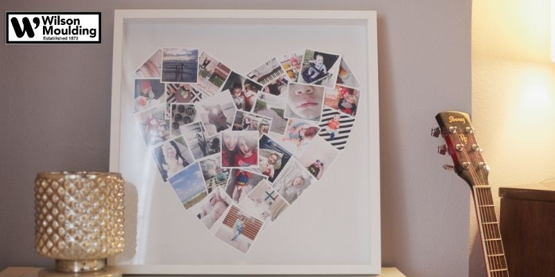 make a photo collage of all your beautiful pictures and then frame them.