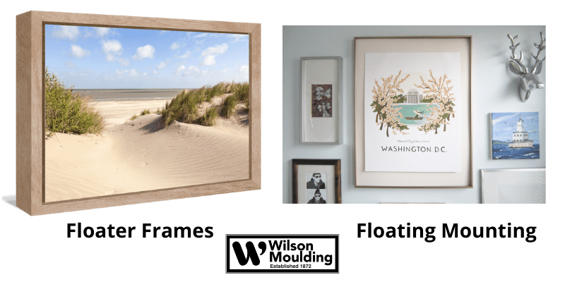 Floating Mounting vs. Floater Frames_ What is the Difference_