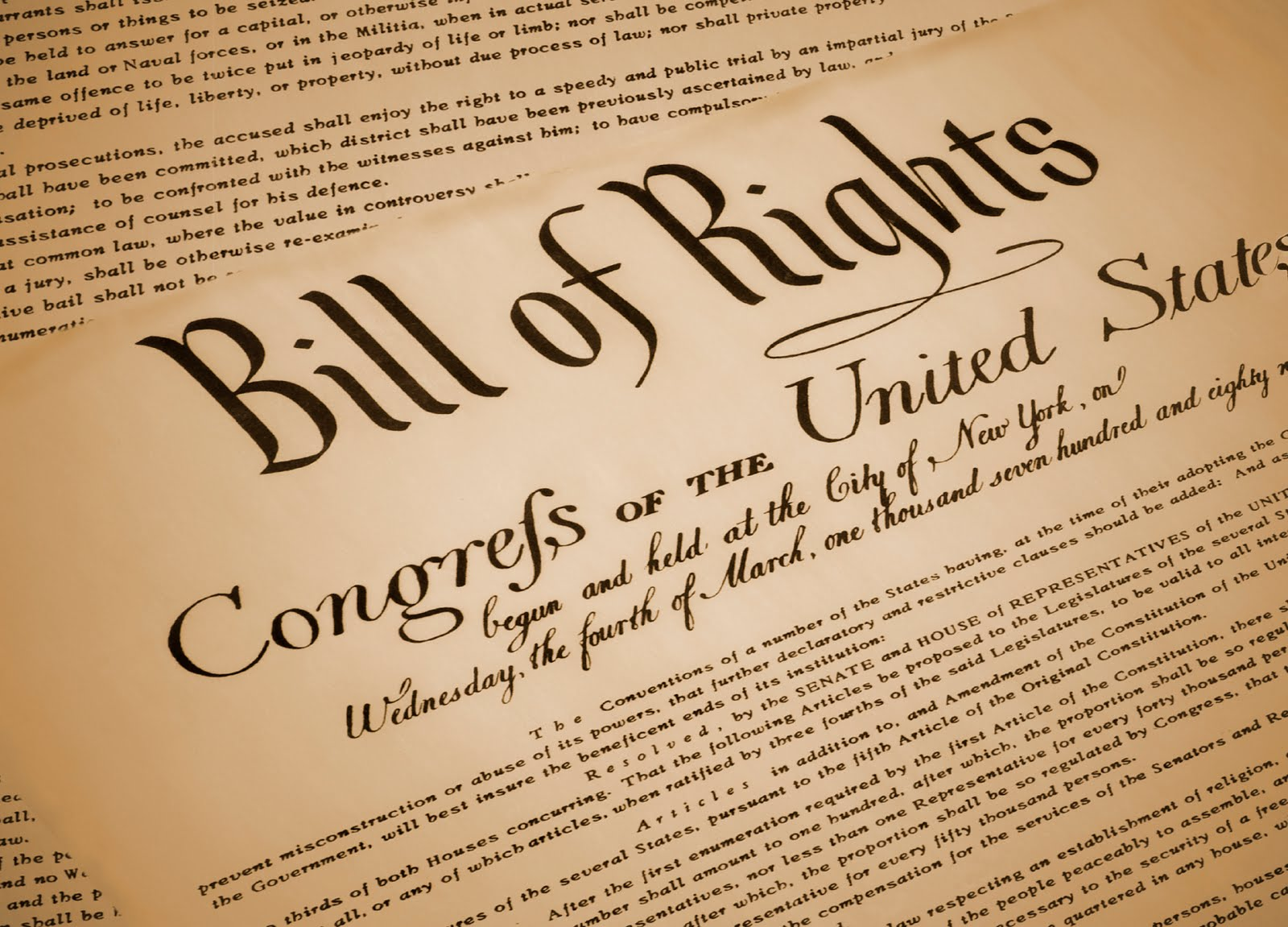 The Bill Of Rights Violated