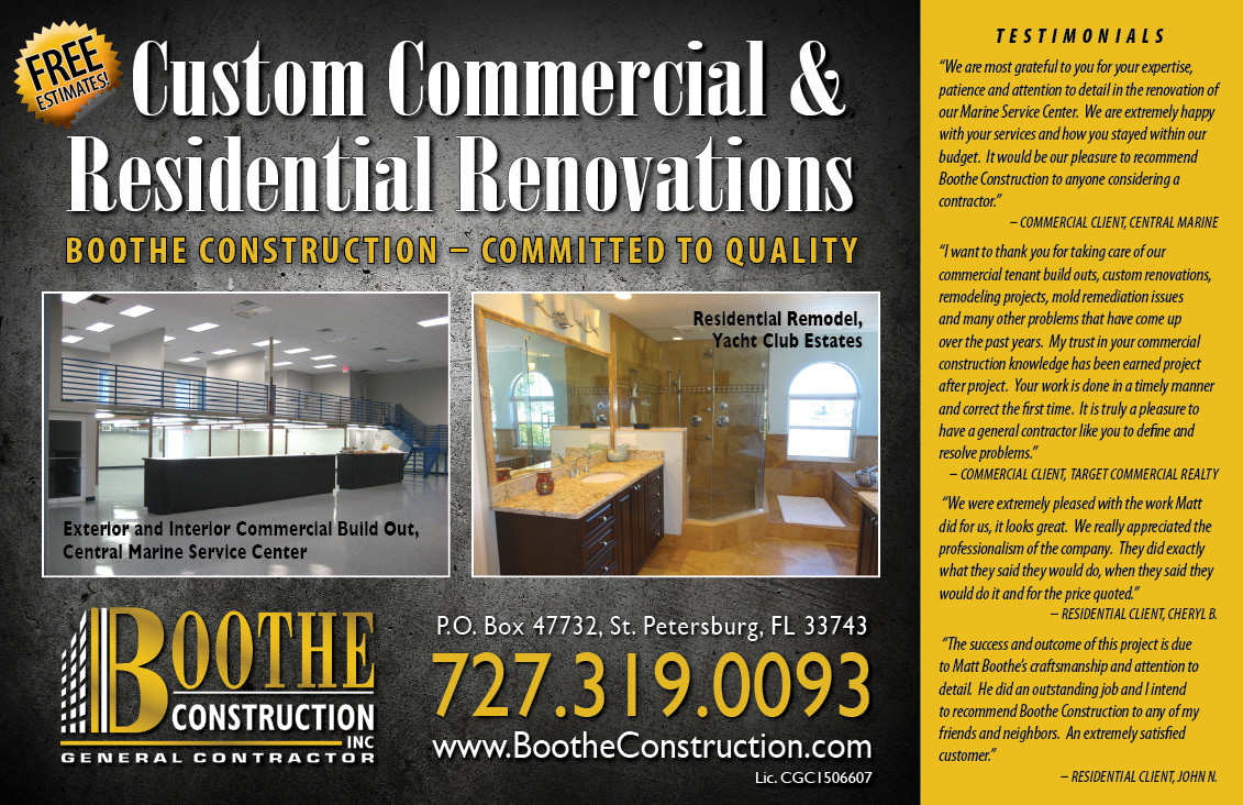 General Contractor Postcard Samples Postcard Marketing