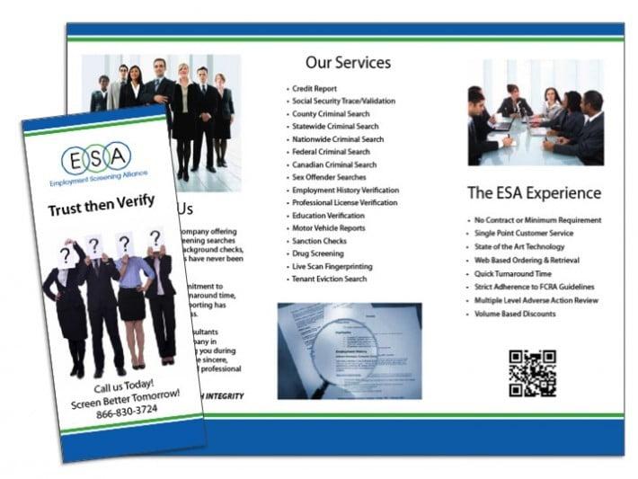 Brochures Wilson Printing USA