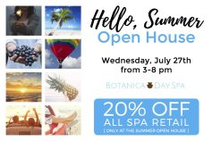 Spa Open House Postcard Sample