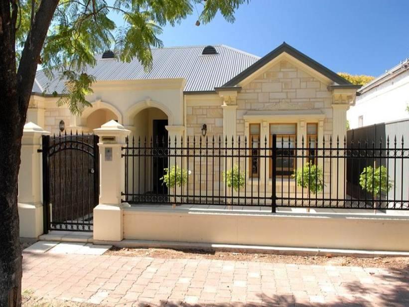 Delighful Fences House Design Modern House Gates And Fences Designs D By  Vannorel For Designs .