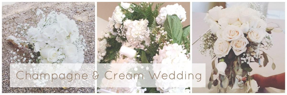 champagne cream wedding wilsons floral design helotes san antonio texas florist
