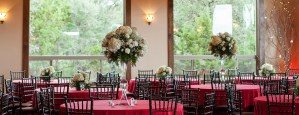 red and white reception florist helotes