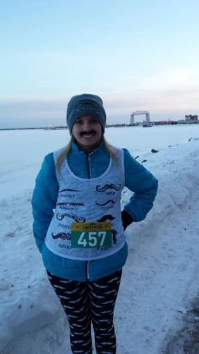 5K in -20 degree weather