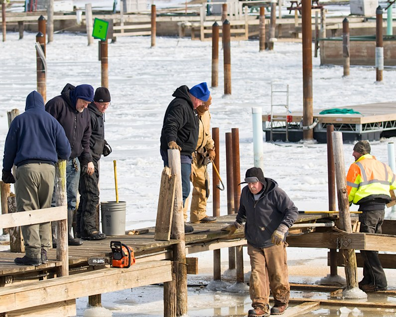 Dock Removal. W7A5077