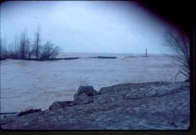 Lake Ontario at its' worst