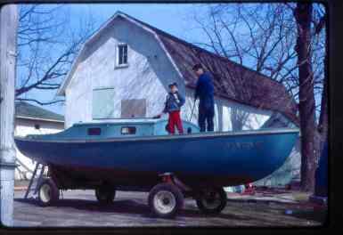 Merle & Don Wiltse aboard FIDDLE-DEE-DEE