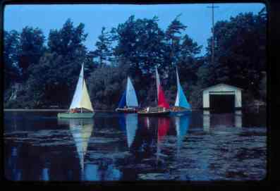 TYC's junior sailing program