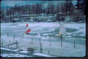 Ice boats Tex Buck, Bob Barry