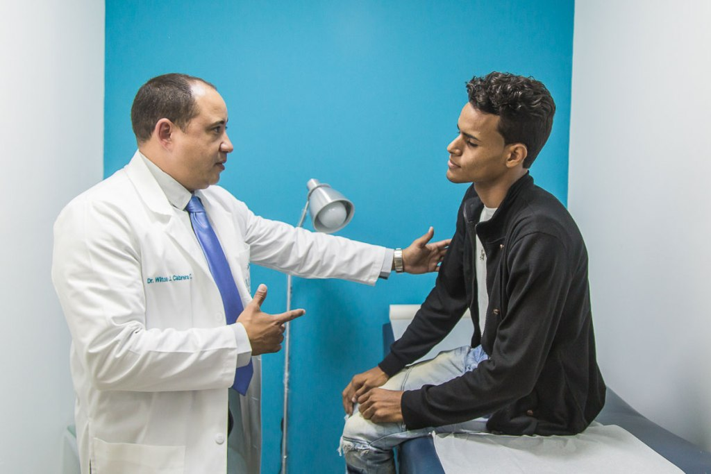 Visita al urólogo Wilton Cabrera