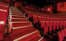 Entertainment carpet; commercial and contract axminster and tufted carpet for entertainment and leisure venues designed and made in the UK by Wilton Carpets