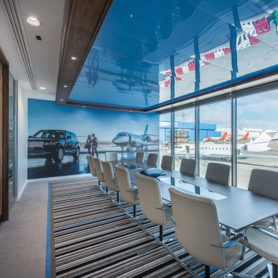 Bespoke axminster contract carpet at Luton Airport designed and woven by Wilton Carpets