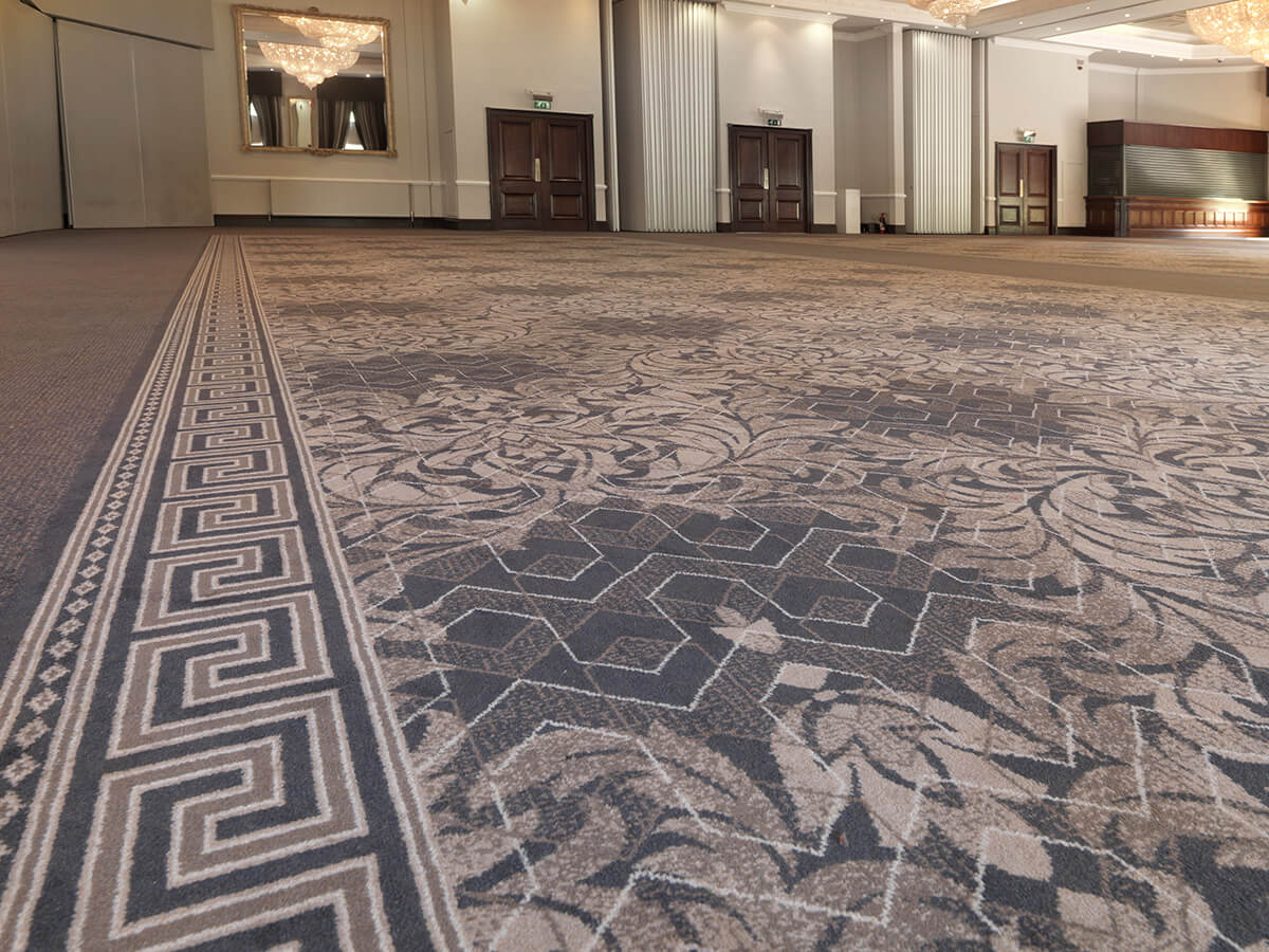 Case Study Hardwick Hall Wilton Carpets Commercial Carpet