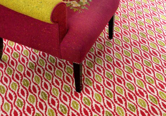 Bespoke Wilton weave carpet from Wilton Carpets