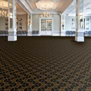 Labyrinth Cubic from the Wilton Carpets Ready to Go Axminster Range.