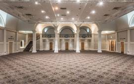 A Ballroom transformed with Wilton Carpets