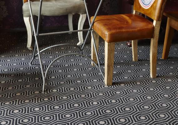 Buzz from the Labyrinth Axminster carpet range by Wilton Carpets