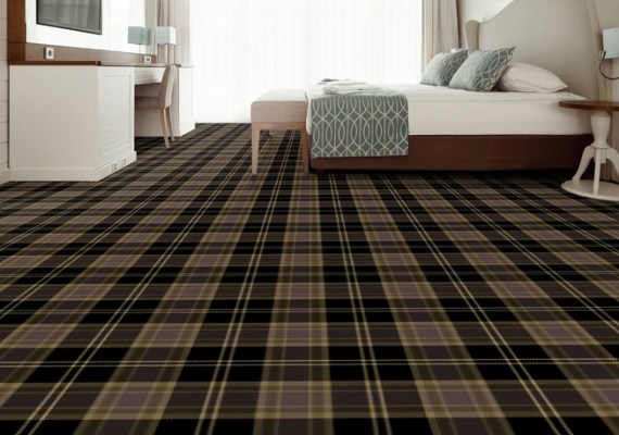 Melrose Tartan Axminster Carpet range by Wilton Carpets