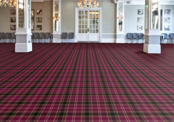 Melrose tartan axminster carpet range form Wilton Carpets