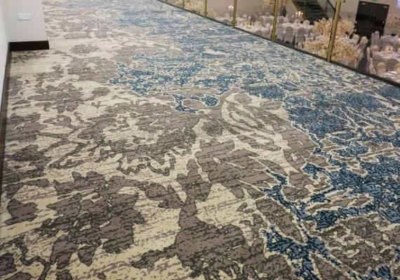 Wilton Carpets Imperial Banqueting Suite Preston UK