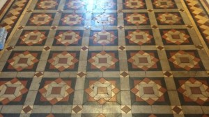Deep Cleaning Old Victorian Tiles Cleaning And