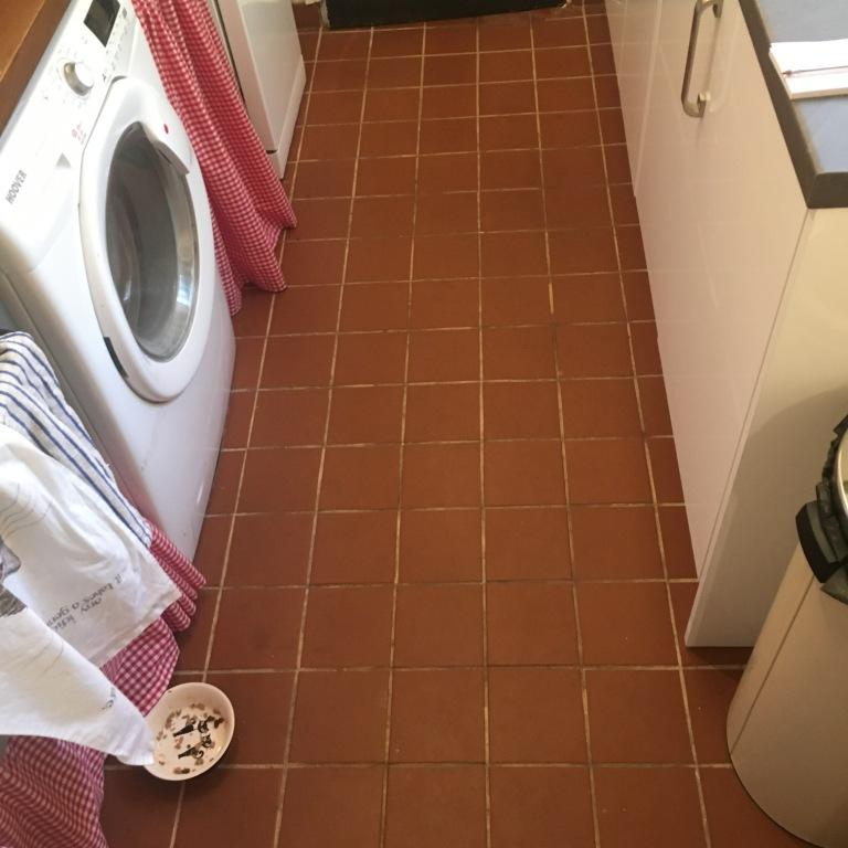 Deep Cleaning Quarry Tile Floors