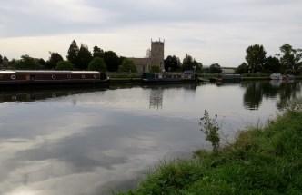 hurch and Canal from Splatt Bridge