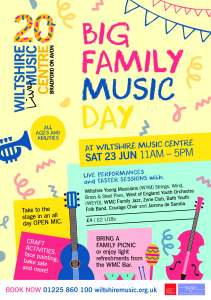 Big Family Music Day @ Wiltshire Music Centre | England | United Kingdom