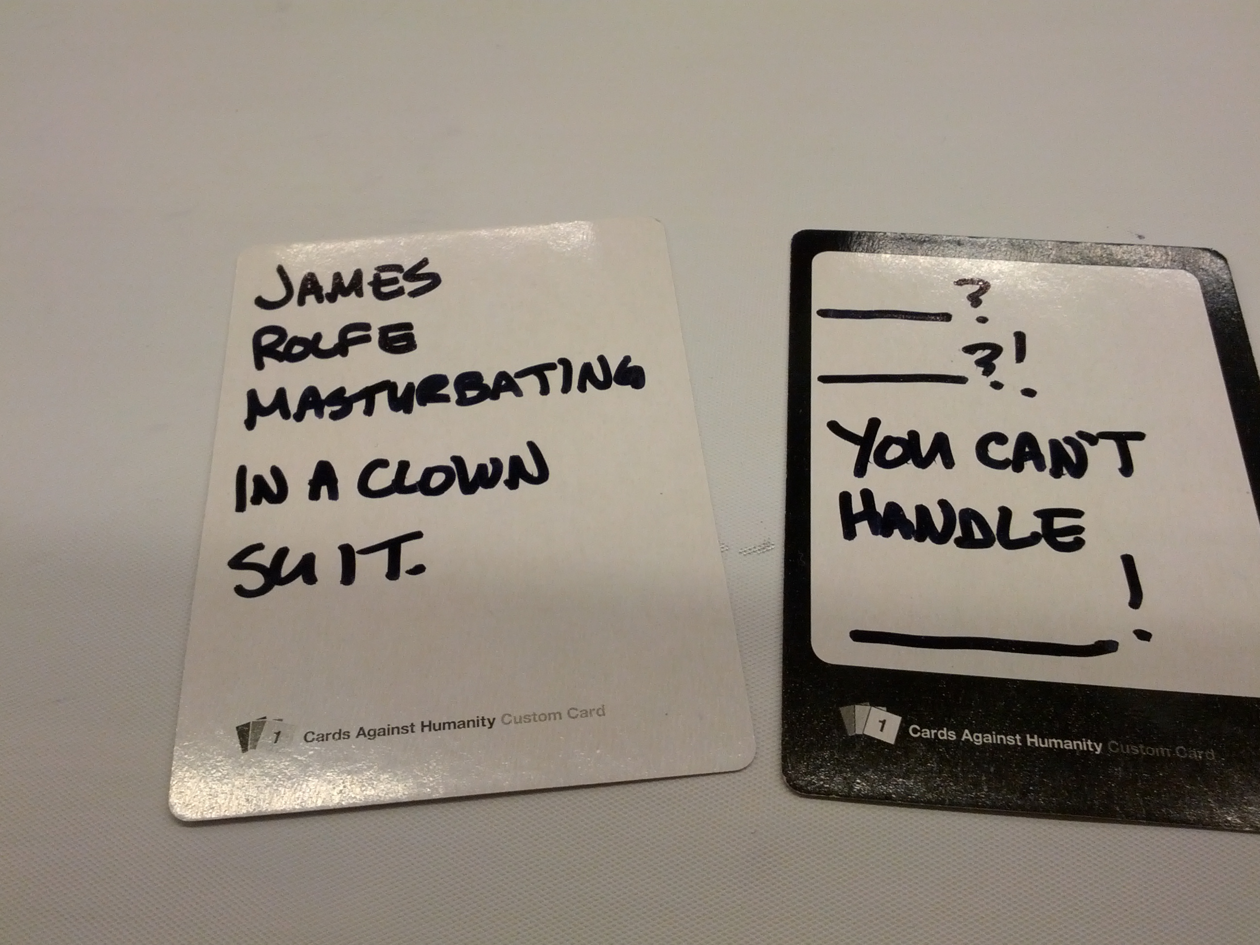 Custom Cards Against Humanity Cards – WIL WHEATON dot NET