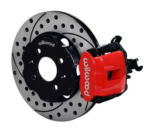 small resolution of wilwood combination parking brake caliper rear brake kit red powder coat caliper srp drilled